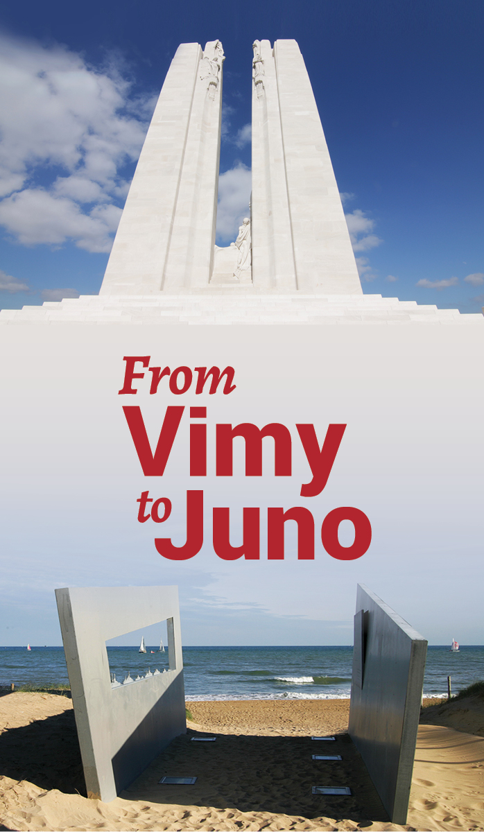 From Vimy to Juno