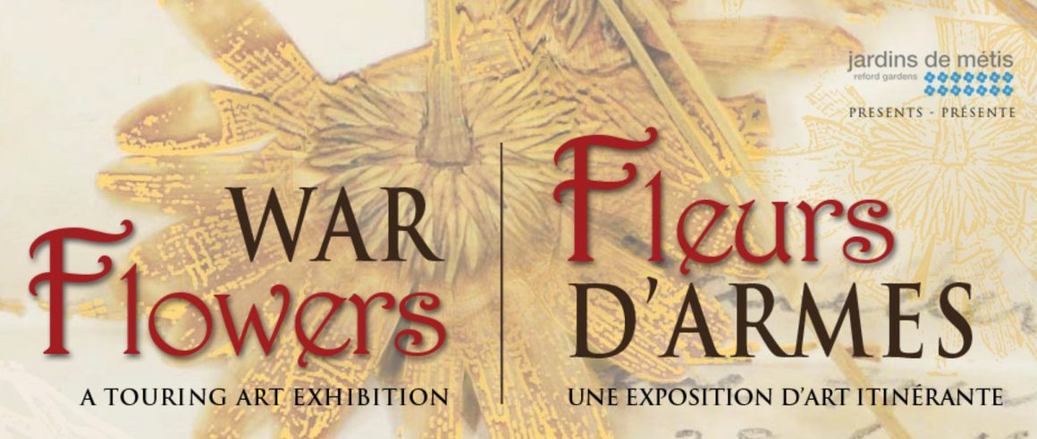 Warflowers: a travelling art exhibition